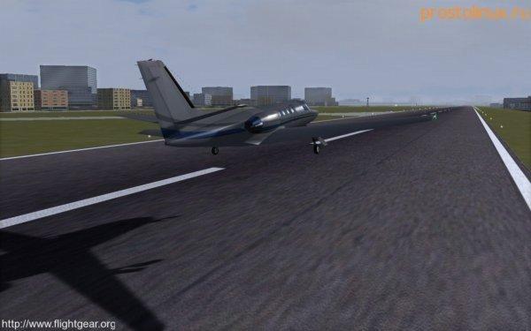 авиасимулятор самолета linux