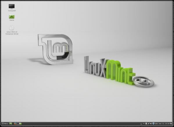 Linux Mint 14 cinnamon