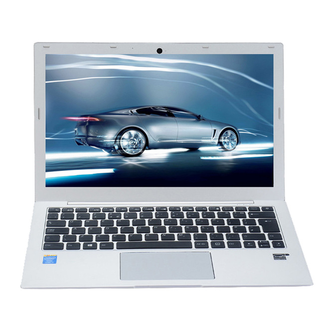 13,3 дюймовый ноутбук Тетрадь компьютер, Windows 10 Pro/Linux Ubuntu, Intel Core I7 7500U, [HUNSN LA01], (HDMI/USB3.0/USB2.0)
