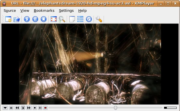 KMPlayer linux