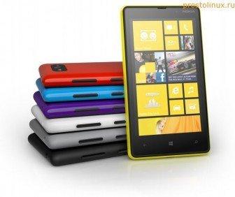 Какой выбрать смартфон Nokia-Lumia-820