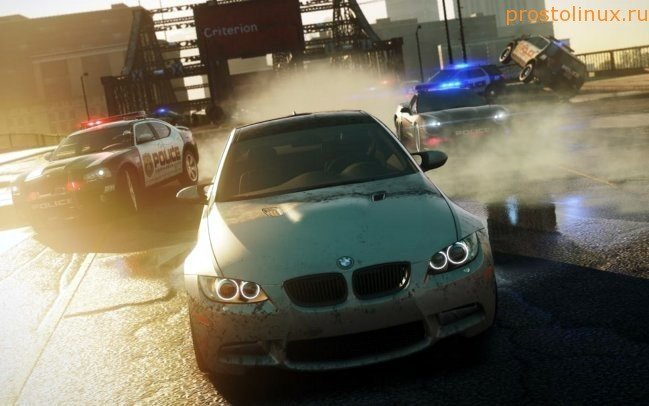 Need for Speed в Linux