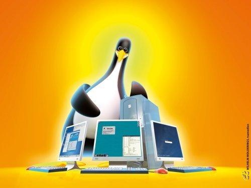 Обои для Linux 1