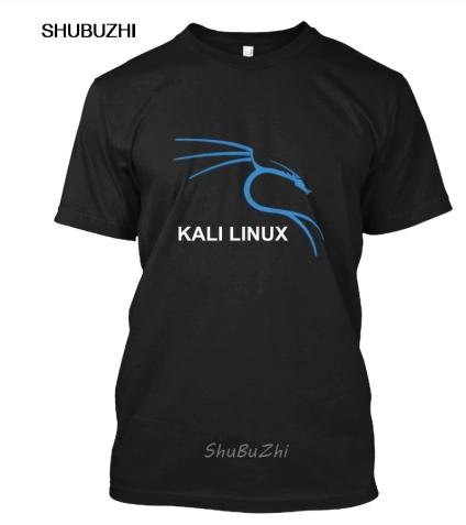 Kali Linux футболки популярная футболка без ключа Мужская хлопковая футболка s летняя брендовая Футболка европейский размер Пря…