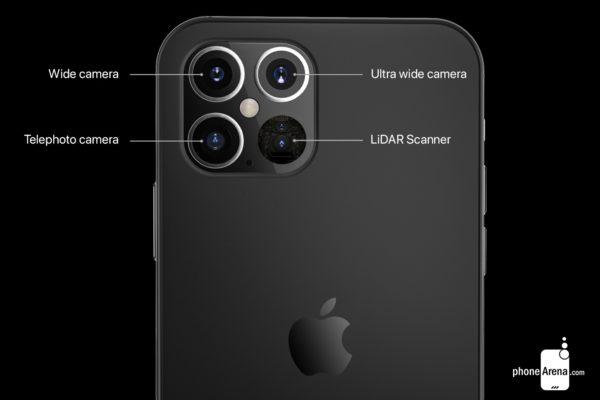 камеры на iphone 12