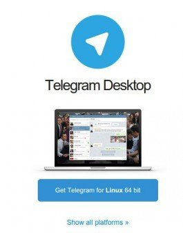 линукс телеграм