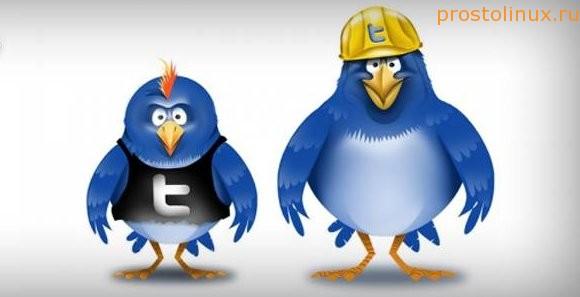 несколько твиттер