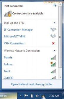 ноутбук не подключается к wifi