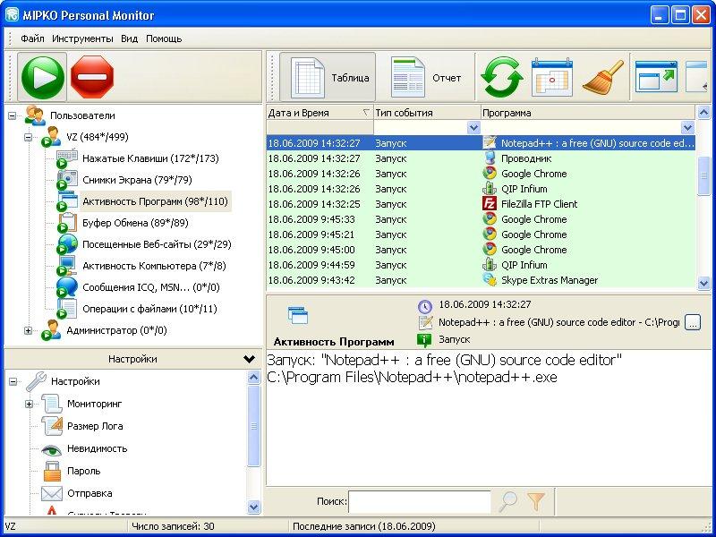 Программа для слежения за компьютером скачать