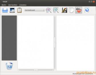 распознание текста в linux