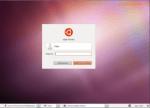 Вход в систему Ubuntu