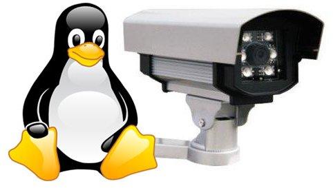 видеонаблюдение в linux